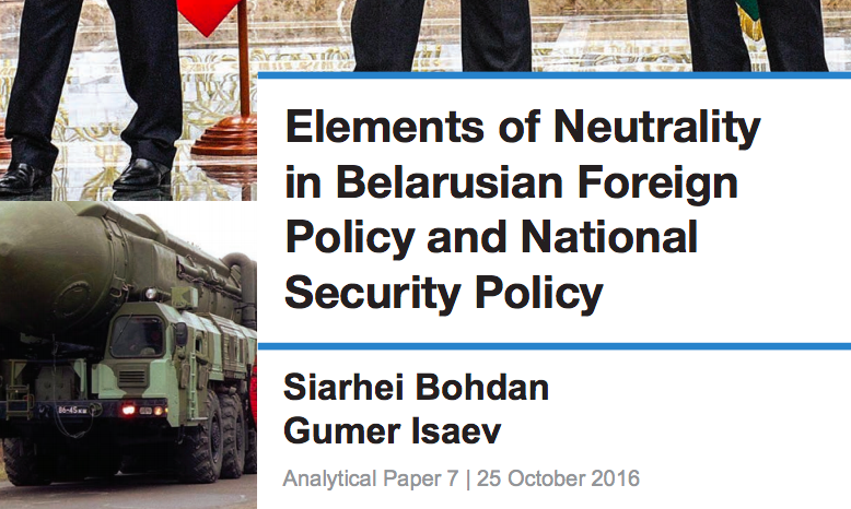 Neutrality as a foreign policy essay topics