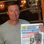 Legendary Hockey Player Gretzky Meets Belarusian Relatives