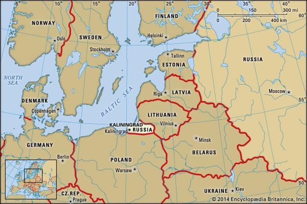 Putin Expects Belarus To Boycott Ports Of Baltic States