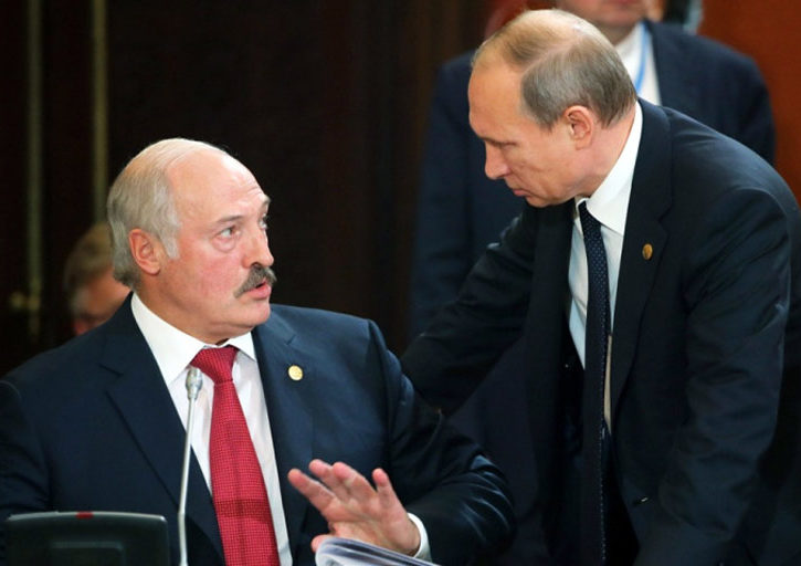 Putin Lukashenko