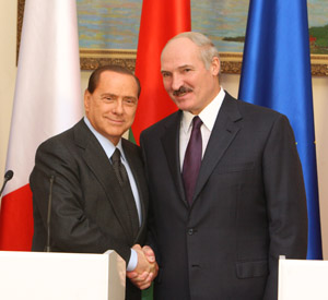 Berlusconi in Minsk