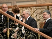 European Troika, Poroshenko and Putin in Minsk