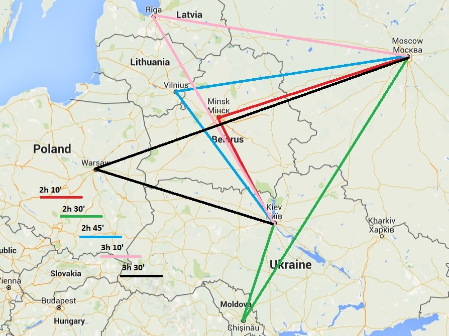 The Ukraine Crisis Will Turn Minsk Into a Regional Airline Hub