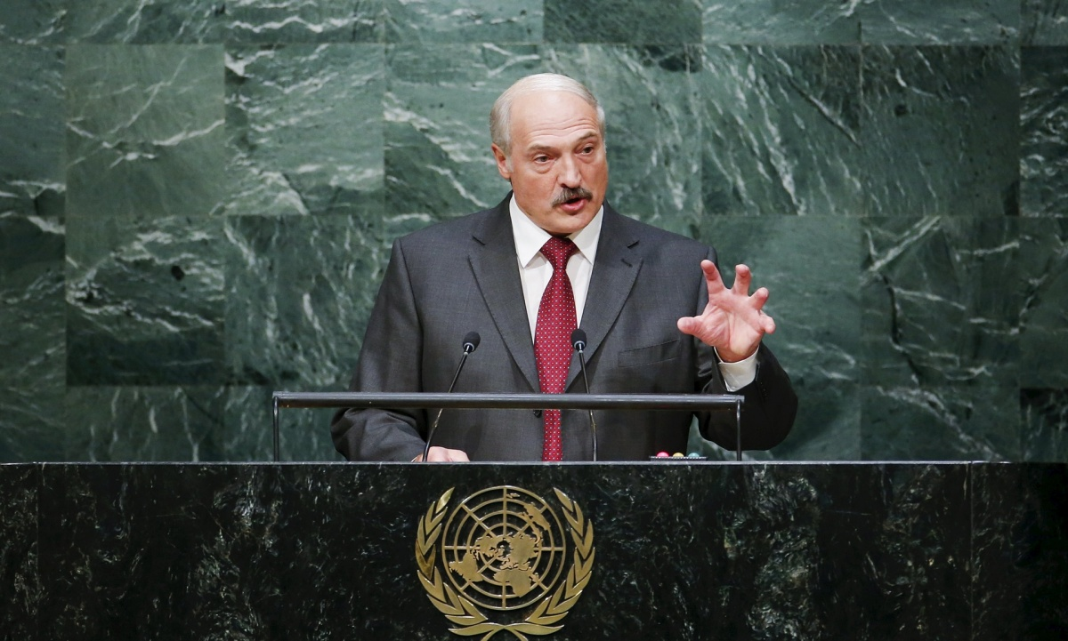 Lukashenka at the UN rostrum