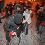 Opposition Demonstrators Beaten up by Riot Police in Minsk