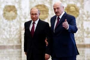 Alexander Lukashenka Vladimir Putin