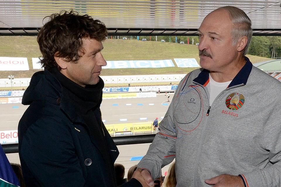 Lukashenko Bjorndalen Belarus