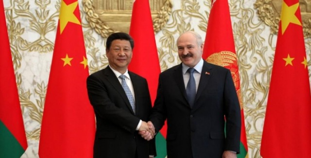 Lukashenka China Xi Jinping