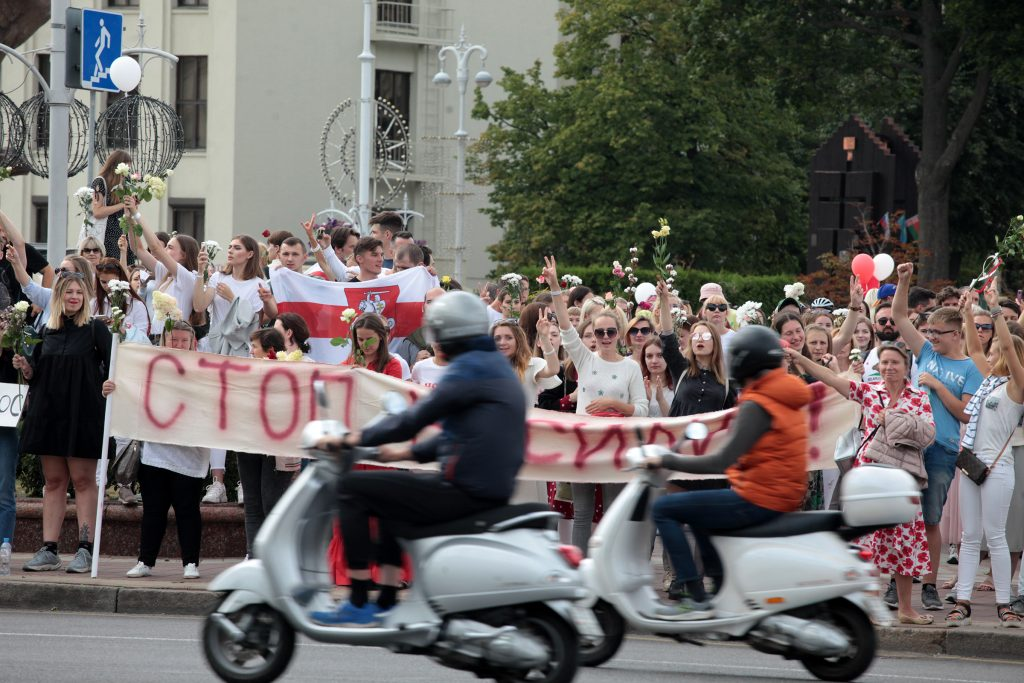 Belarus Protest - SilverbirdTV   Belarus